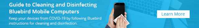 Keep your devices from COVID-19 by following Bluebird instructions for cleaning and disinfection.